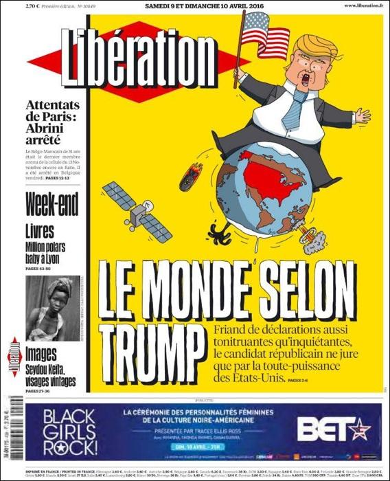 Libération, storico (e imitato) quotidiano alternativo