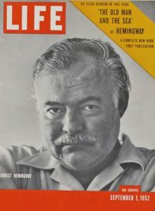 Il numero di Life in cui fu pubblicato il romanzo di Hemingway