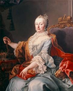 Maria Teresa d'Austria ritratta da Martinvan Meytens