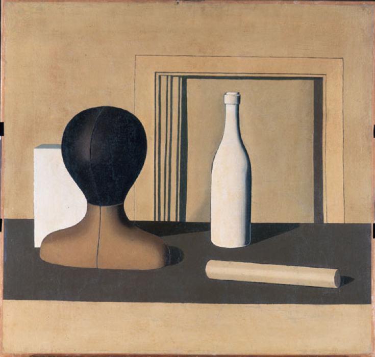 Cinque grandi quadri della pittura metafisica - Cinque cose