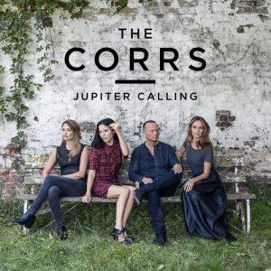 I Corrs sulla copertina del loro ultimo album, Jupiter Calling