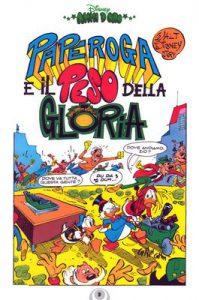 """La """"splash page"""" di """"Paperoga e il peso della gloria"""" di Pezzin e Cavazzano"""