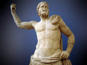 Statua di Poseidone al Museo Archeologico Nazionale di Atene