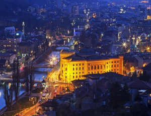 L'affascinante Sarajevo, capitale della Bosnia-Erzegovina
