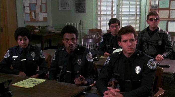 Alcuni dei protagonisti di Scuola di polizia