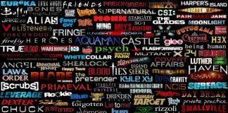 I loghi di alcune delle serie TV di maggior successo degli ultimi decenni