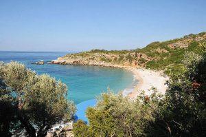 Il caraibico litorale di Drobni Pijesak (foto di anjči via Flickr)