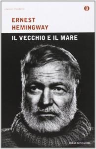 """La copertina italiana de """"Il vecchio e il mare"""""""
