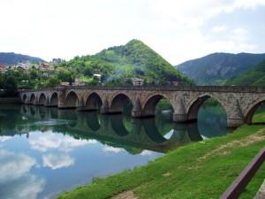 Il ponte sulla Drina di Višegrad