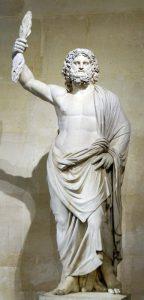 Statua di Zeus conservata al Louvre