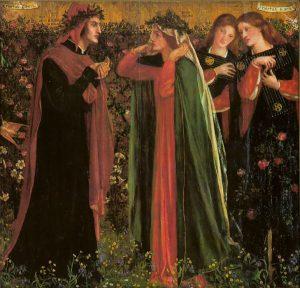 Il saluto di Beatrice, opera di Dante Gabriel Rossetti