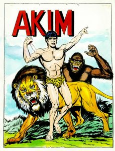 Akim, la risposta italiana a Tarzan