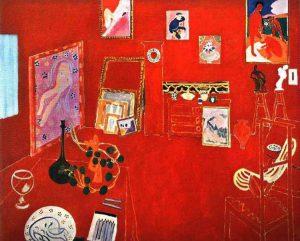 L'atelier rosso di Henri Matisse