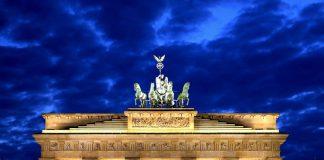 La porta di Brandeburgo, simbolo di Berlino