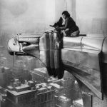 Margaret Bourke-White in cima al Chrysler Building
