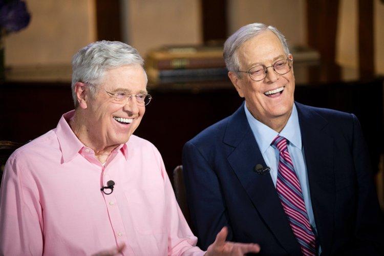 Charles e David Koch, controversi imprenditori americani