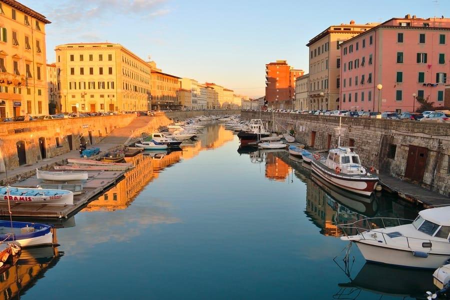 Uno scorcio di Livorno