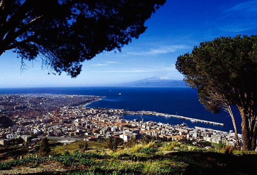 Il panorama di Reggio Calabria