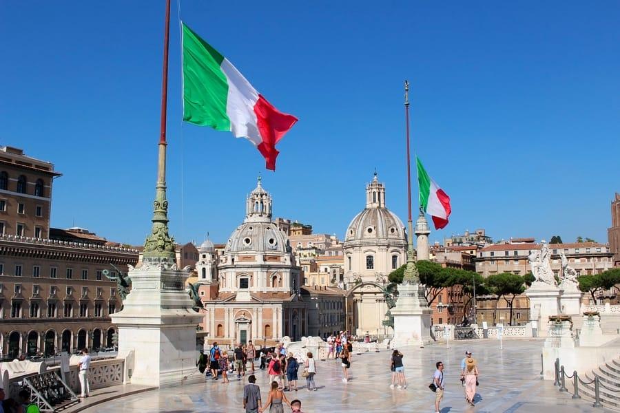 Panoramica di Roma