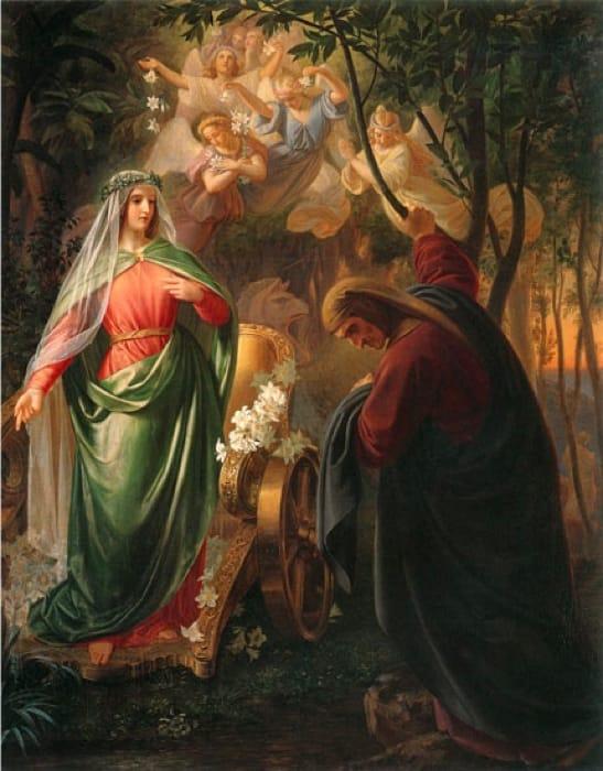Frasi Matrimonio Dante.Dante E Beatrice La Storia E Le Frasi Sul Loro Rapporto