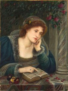 Beatrice dipinta da Marie Spartali Stillman