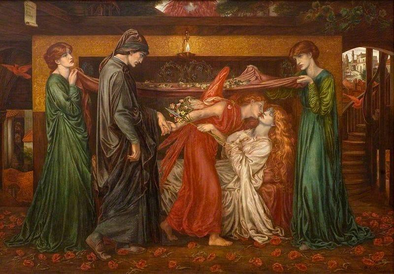 Il sogno di Dante della morte di Beatrice