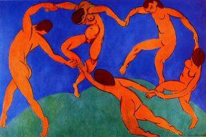 La seconda versione de La danza, forse il capolavoro più famoso di Henri Matisse
