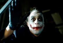 Heath Ledger nei panni di Joker