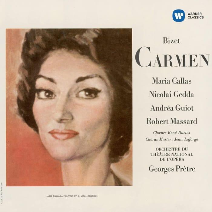 Una classica registrazione della Carmen con Maria Callas