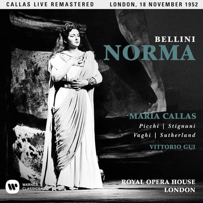 La Norma in una celebre interpretazione di Maria Callas