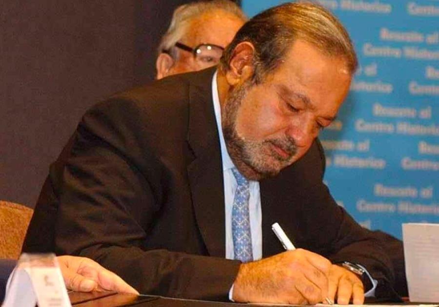 Carlos Slim nei primi anni Duemila