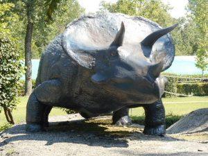 Un Triceratopo (foto di Andreone93 via Wikimedia Commons)