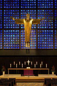 L'altare della Kaiser-Wilhelm-Gedächtniskirche