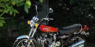 La Kawasaki 900 Z1, una delle più belle e innovative moto degli anni '70