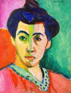 Madame Matisse, o Ritratto con la riga verde