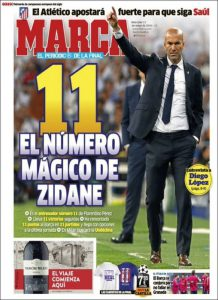 Marca, quotidiano sportivo spagnolo vicinissimo al Real Madrid