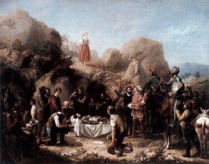 Marcella compare durante il funerale di Crisostomo