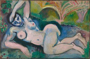 Nudo blu, quadro che ebbe una profonda influenza anche sui cubisti