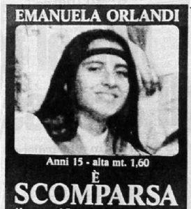 Emanuela Orlandi nei manifesti che furono sparsi per Roma all'epoca della sua sparizione