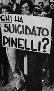 La campagna per la verità sulla morte di Pinelli