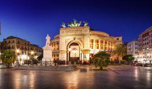 Il Teatro Politeama di Palermo