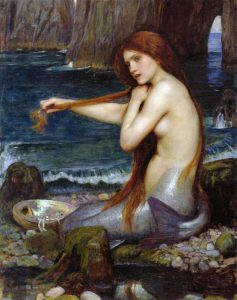 "Il dipinto ""Una sirena"" di John William Waterhouse"