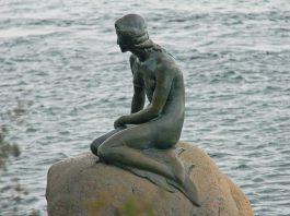La Sirenetta di Copenaghen, ispirata alla famosa favola di Hans Christian Andersen