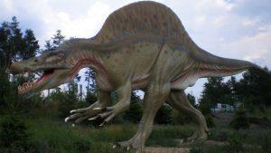 Lo Spinosauro, uno dei dinosauri più grandi (foto di Doc Strangepork via Wikimedia Commons)