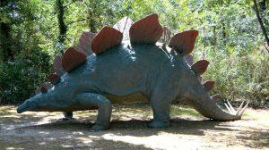 Lo Stegosauro (foto di Andreone93 via Wikimedia Commons)