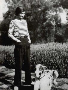 Coco Chanel nel 1928
