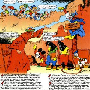 """Tavola de """"L'inferno di Topolino"""", il primo capolavoro Disney prodotto in Italia"""