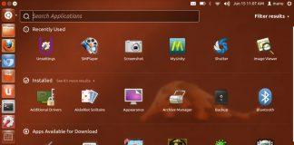 Il desktop di Ubuntu, il più usato sistema operativo figlio della filosofia open source