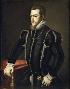 Filippo II di Spagna ritratto da Tiziano