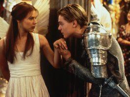 Claire Danes e Leonardo DiCaprio in Romeo + Giulietta, uno dei film d'amore adolescenziali più belli
